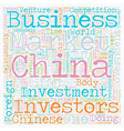 How to do business in China text background vector image vector image
