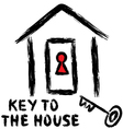 Key to the house vector image