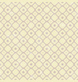 pattern in retro style on yellow background vector image