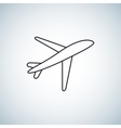 plane Icon element design vector image vector image