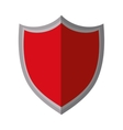 red shield protection premium shadow vector image vector image