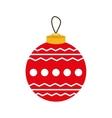 santa cartoon merry christmas icon graphic vector image vector image