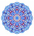 Abstract colorful circle backdrop vector image vector image