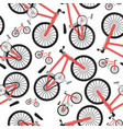bcycle seamless pattern vector image