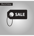 black and white style icon sale vector image vector image