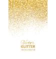 falling glitter confetti vector image vector image