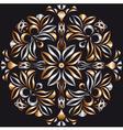 metallic bronze pattern vector image vector image
