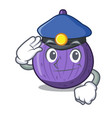 police character fig fruit for healthy lifestyle vector image vector image
