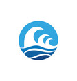 Water wave icon