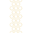 Abstract textile golden suns geometric vertical vector image