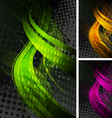 Bright backdrops vector image