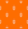 pennant with soccer ball pattern seamless vector image vector image