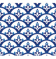 porcelain pattern vector image
