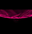 science fiction cosmic space fantastic planet 3d vector image