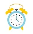 time clock watch alarm icon vector image