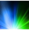 Abstract background in green blue tones EPS 10 vector image vector image