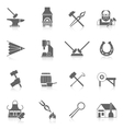 Blacksmith Icon Set vector image vector image