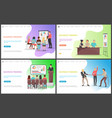 business training seminar workers competence vector image vector image