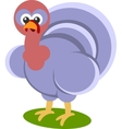 Cartoon Turkey Presenting vector image