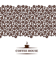 cofee horizontal vector image vector image