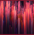 glitch background digital image data vector image vector image