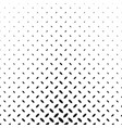 monochrome geometrical halftone diagonal ellipse vector image vector image
