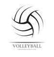 Volleyball background ball
