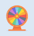 wheel fortune vector image vector image