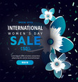 spring sale banner special discount vector image
