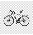 Bike a transparent background Bicycle silhouette vector image vector image