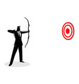 business target vector image vector image