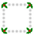 Christmas greeting decorative card frame template