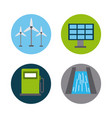 energy renewable ecology vector image