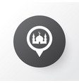 mosque icon symbol premium quality isolated place vector image vector image