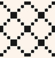 ornamental ethnic motif with squares vector image vector image