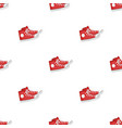 red gumshoes icon in cartoon style isolated on vector image vector image