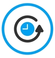 Restore Clock Rounded Icon vector image vector image