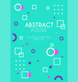 abstract poster original design creative placard vector image