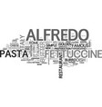 alfalfa text word cloud concept vector image vector image