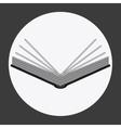 Bible design Book icon Flat vector image vector image