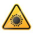 Coronavirus warning and attention sign covid-19