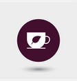 cup icon simple vector image