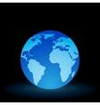 Digital Light Ball vector image vector image