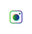 instagram symbol social media isolated icon logo vector image
