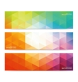 Modern Colorful Set Of Banners For Your vector image vector image