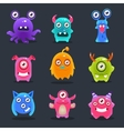 Monsters Lovely vector image