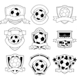 Soccer badge vector | Price: 1 Credit (USD $1)