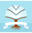 Tree book vector image vector image
