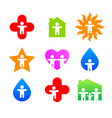 signs collection vector image