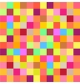 Colorful mosaic background vector image vector image